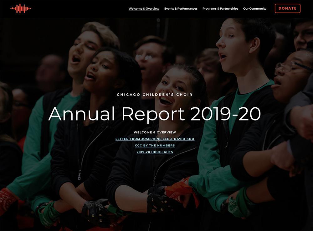 2020 website screenshot