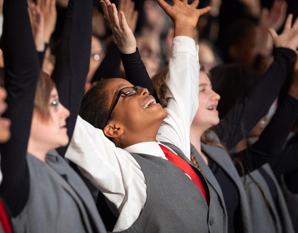 Neighborhood Choir highlight